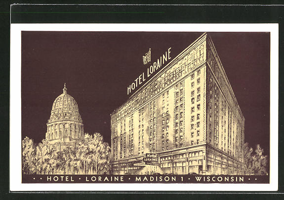 AK Madison, WI, Hotel Loraine