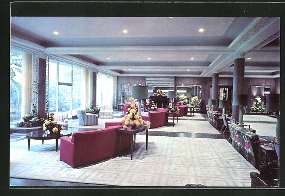 AK San Antonio, TX, Menger Hotel, Lounge