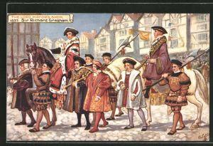 AK London, The Lord Mayor's Show, 1537, Sir Richard Gresham