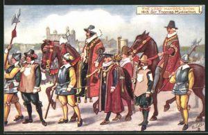 AK London, The Lord Mayor's Show, 1613, Sir Thomas Myddelton