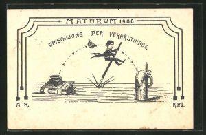 AK Darmstadt, Absolvia Maturum 1906,