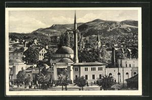 AK Sarajewo, Blick zur Kaiser Moschee
