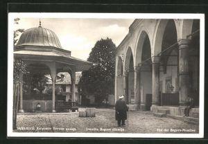 AK Sarajewo, Hof der Begova Moschee
