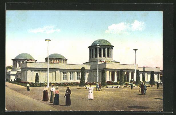 AK Breslau, Ausstellung zur Jahrhundertfeier der Freiheitskriege 1913, Historische Ausstellung