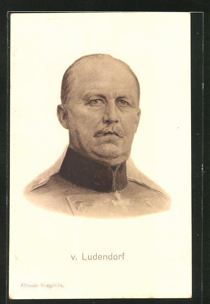AK Altonaer Kriegshilfe, von Ludendorf