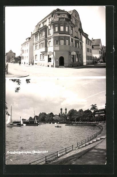 AK Friedrichshafen a. Bodensee, Gasthaus kleiner Berg, Moltkestrasse 20