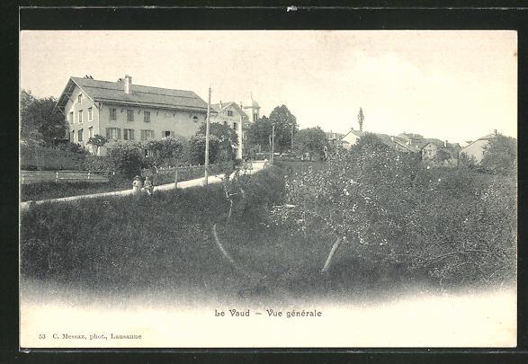 Bild zu AK Le Vaud, Vue g...