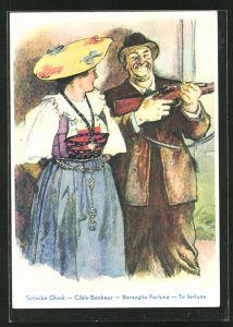 Künstler-AK Luzern, Eidg. Schützenfest 1939,