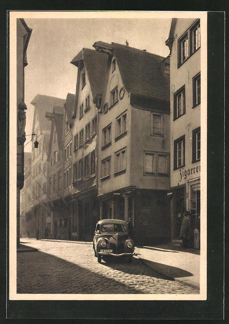 AK Köln a. Rh., Ford-Auto am Buttermarkt