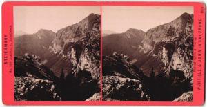 Stereo-Fotografie Würthle & Sohn, Salzburg, Ansicht vom Reindlstein