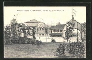 AK Frankfurt-Westend, XI. Deutsches Turnfest, Festhalle
