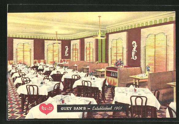 AK Chicago, IL, Guey Sam's Chinese Restaurant, 2205 Wentworth Avenue