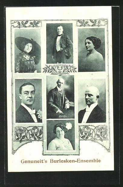 AK Genuneit's Burlesken-Ensemble, Variete