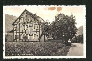 AK Weschnitz /Odenwald, Posterholungsheim Zum Erbacher Hof