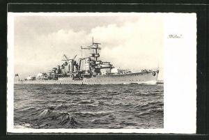 AK Kriegsschiff
