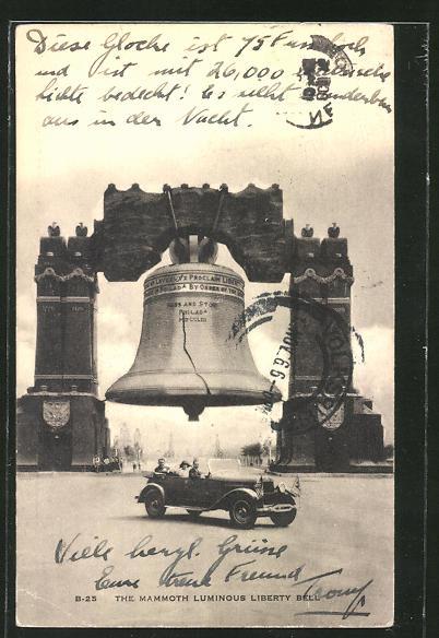 AK die Mammoth Luminous Liberty Glocke