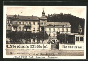 AK Bad Schandau, Stephans Elb-Hotel