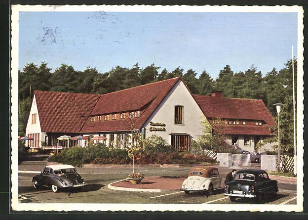 AK Gütersloh i/Westf., Autobahn-Rasthaus-Hotel