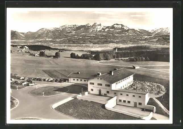 AK Autobahn-Rasthaus und Hotel Irschenberg, Vogelschau