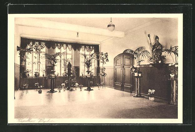 AK Kiedrich, St. Valentius-Haus, Kapellen Vorplatz