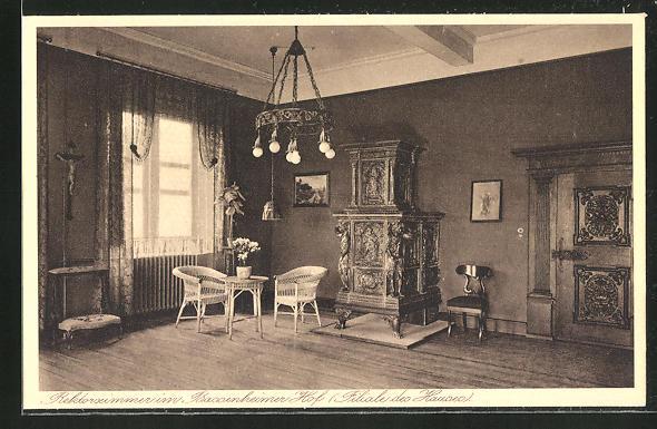 AK Kiedrich, St. Valentius-Haus, Rektorzimmer im Bassenheimer Hof 0