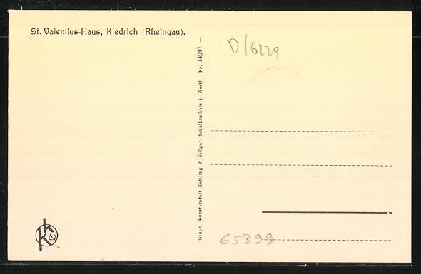AK Kiedrich, St. Valentius-Haus, Rektorzimmer im Bassenheimer Hof 1