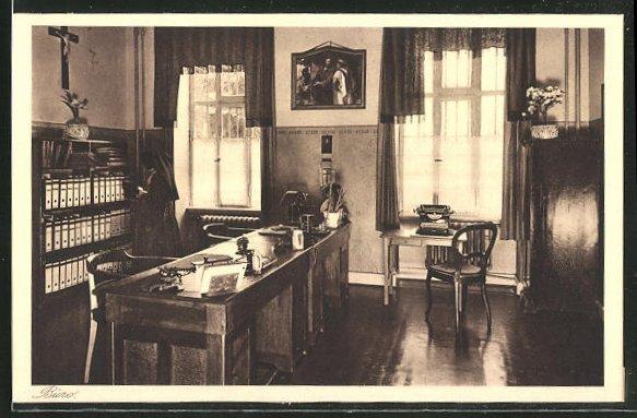 AK Kiedrich, St. Valentius-Haus, Büro