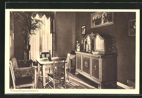 AK Kiedrich, St. Valentius-Haus, Empfangszimmer
