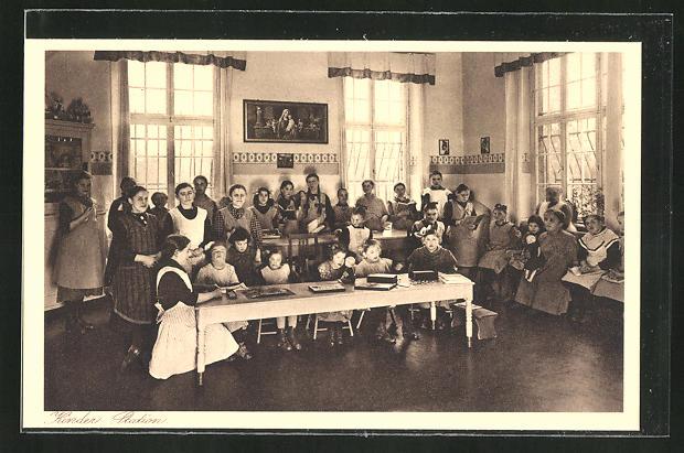 AK Kiedrich, St. Valentius-Haus, Kinder Station