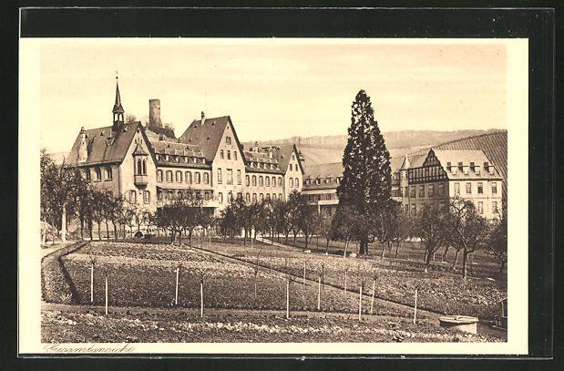 AK Kiedrich, St. Valentius-Haus, Gesamtansicht