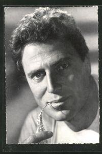 AK Raf Vallone, Portrait des Schauspielers
