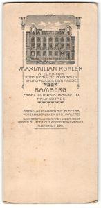 Fotografie Maximilian Kohler, Bamberg, Ansicht Bamberg, Atelier in der Franz-Ludwigstrasse 10
