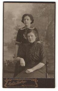 Fotografie Martin Forsberg, Katrineholm, Portrait zwei junge Damen