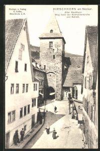 Mädchen aus Hirschhorn (Neckar)