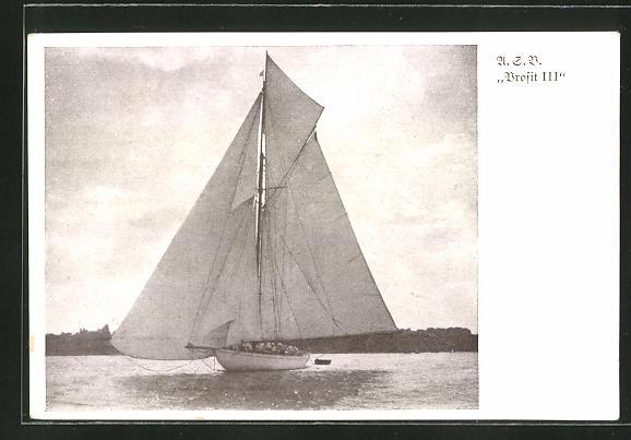 AK A.G.V. Prosit III, Segelboot