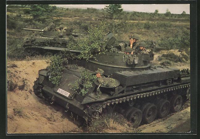 AK Bundeswehr, Flak-Panzer in Stellung