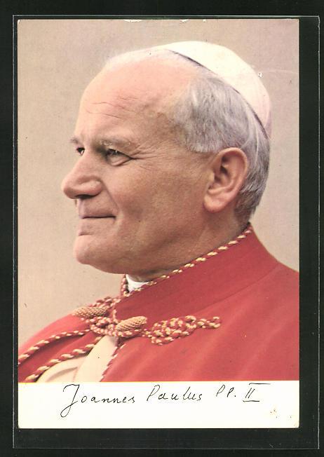 AK Portrait von Papst Johannes Paul II.