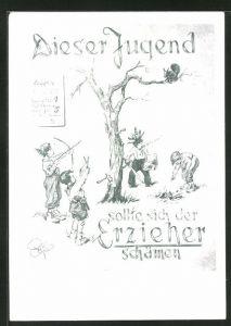 Künstler-AK Heinz Geilfus: