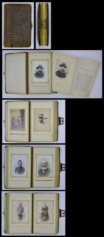 Fotoalbum Familie Werner Winter, 37 Fotografien & Sonderdruck, 13 Seiten mit CDV - & Kabinettfotos