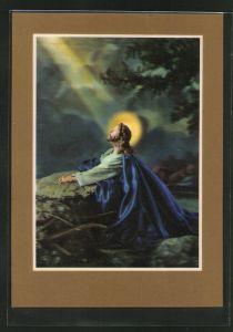 3D-AK Gethsemane, Jesus beim Beten