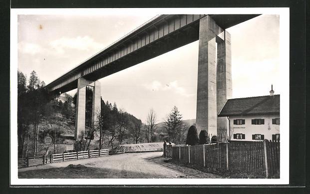 AK Mangfallbrücke der Reichsautobahn München-Salzburg-Wien