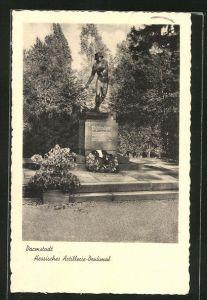 AK Darmstadt, Hessisches Artillerie-Denkmal