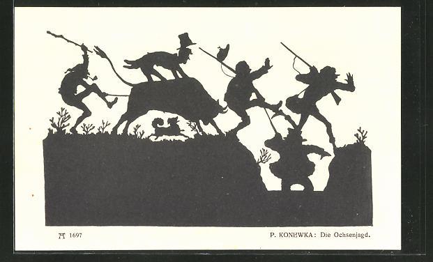 Künstler-AK Paul Konewka: