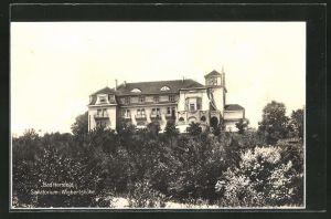 AK Bad Hersfeld, Sanatorium Wigbertshöhe