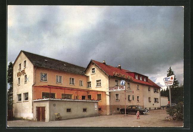 AK Töpen, Gasthof