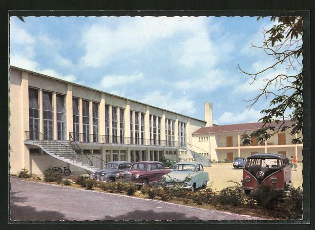 AK Edenkoben / Pfalz, Südwesthalle des SWFV mit Übernachtungsheim 0