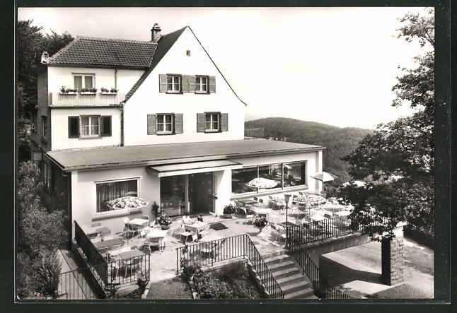 AK Neustadt, Gasthaus Burgschänke der Fam. Rusche 0