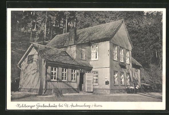 AK St. Andreasberg / Harz, Gasthof Rehberger Grabenhaus 0