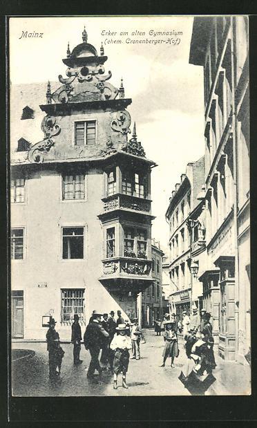AK Mainz, Erker am alten Gymnasium