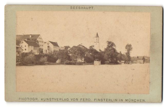 Fotografie Ferd Finsterlin München Ansicht Seeshaupt Panorama
